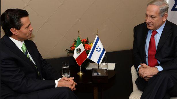 Netanyahu peña nieto