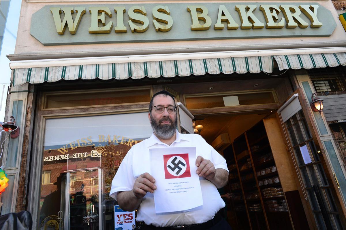 Cartas antisemitas NY