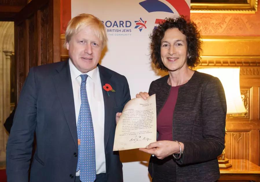 Johnson réplica Balfour