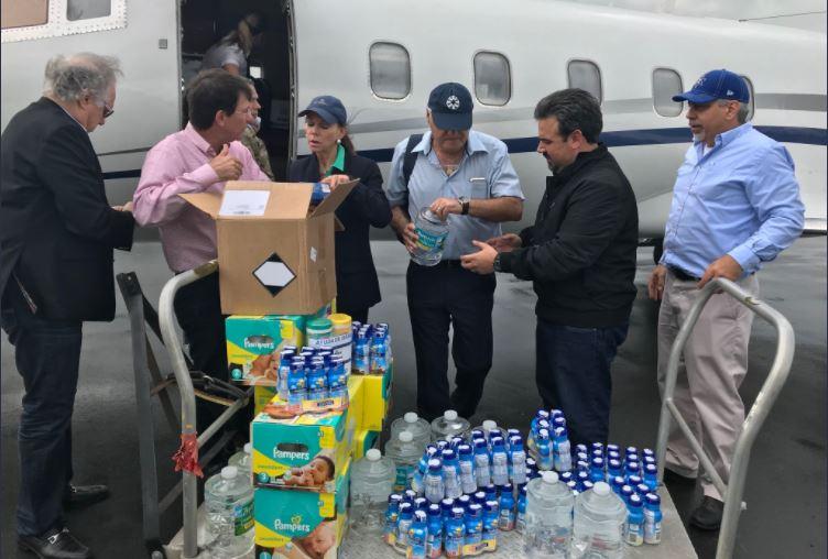 Lior Haiat ayuda humanitaria
