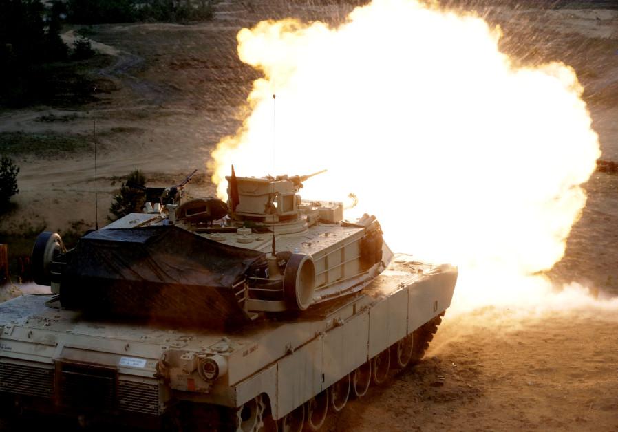 tanque israeli