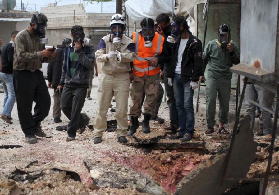Siria ataque quimico
