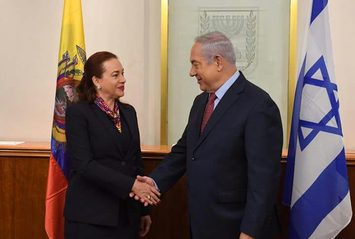Netanyahu Ecuador