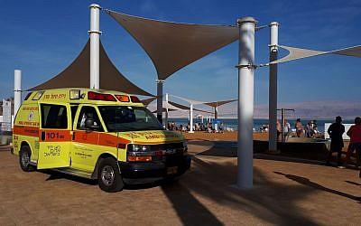 ambulancia mar muerto