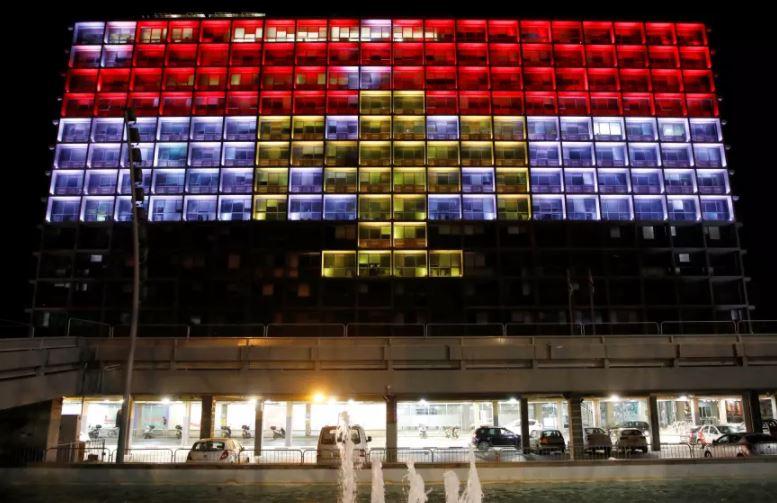 bandera egipto tel aviv