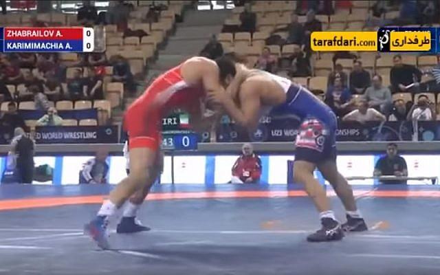 luchador iraní