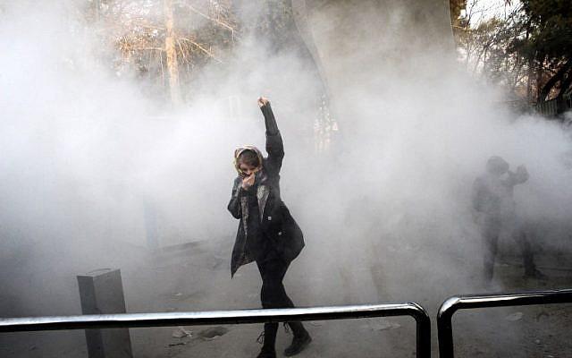 Iran protesta