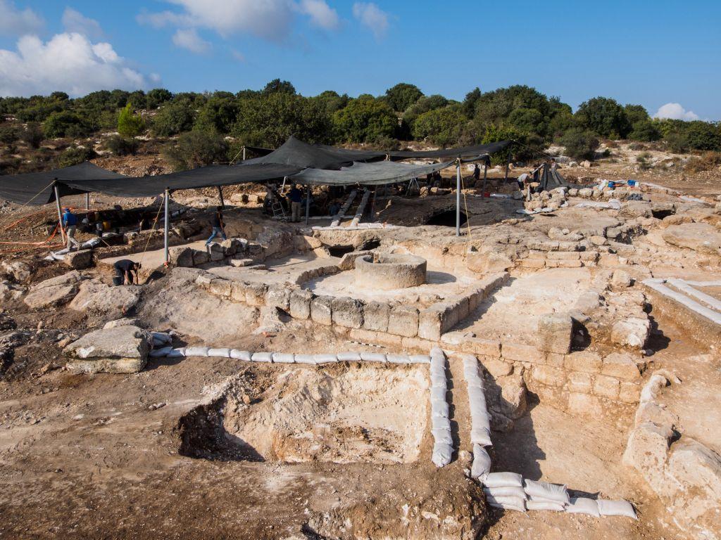 Monasterio excavación