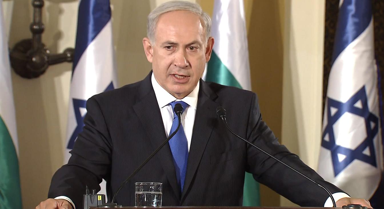Netanyahu serio