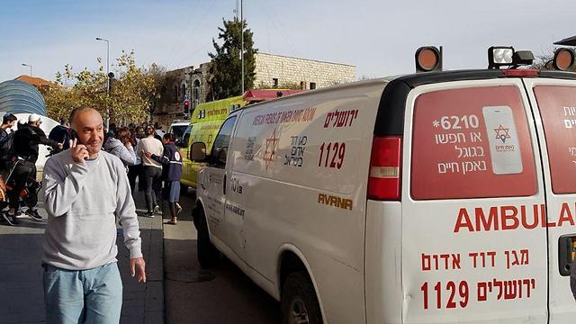 Un guardia de seguridad fue apuñalado cerca de la estación central de autobuses de Jerusalem