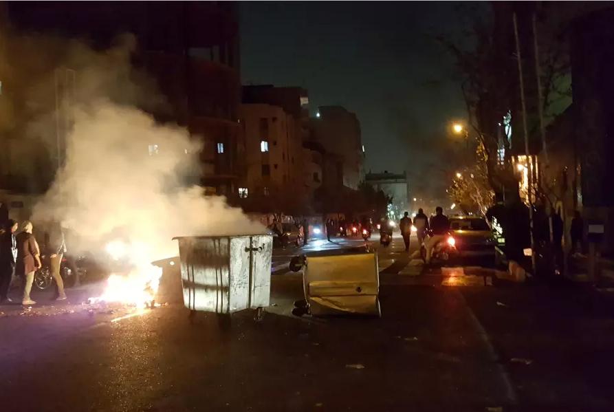 Disturbios Irán