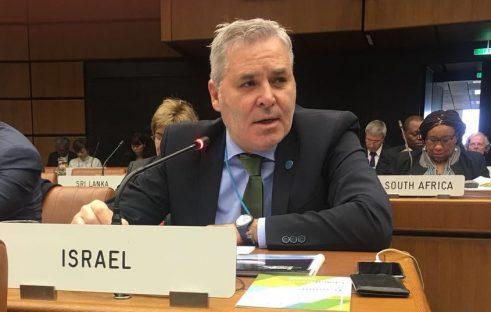 Leo Vinovezky, director de Relaciones Exteriores y Colaboraciones Internacionales de la Agencia Espacial de Israel