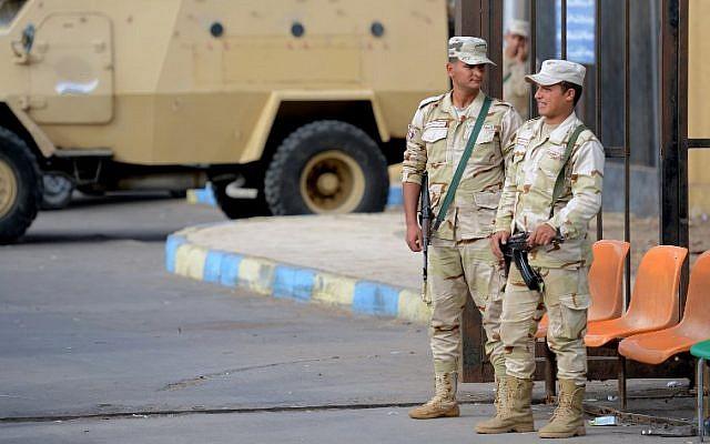 egipto militares