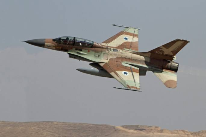 Resultado de imagen para F-16 + israel