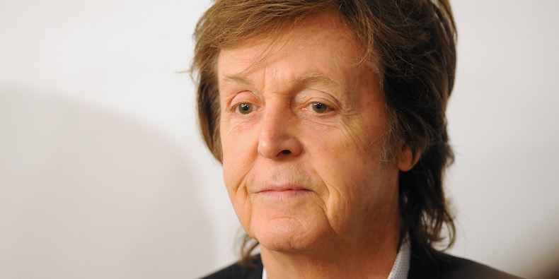 Paul McCartney and Lily Cole Discuss New Song «Hope For The Future»