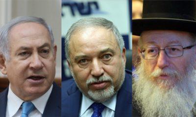 liberman netanyahu rabino
