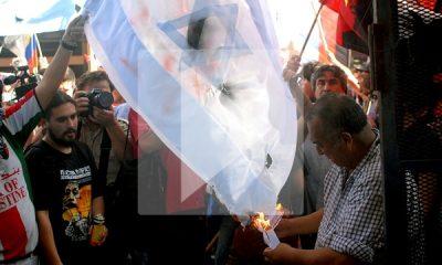 manifestacion anti israel