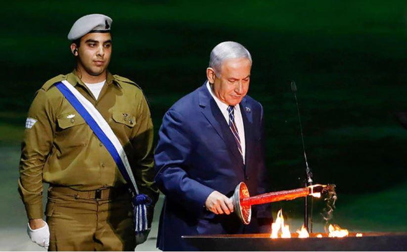 Netanyahu antorcha