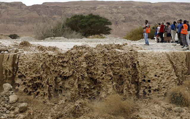 inundacion israel