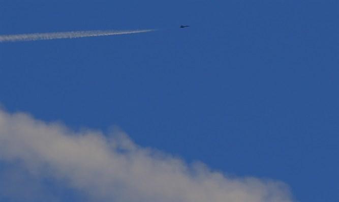 Avión cielo Siria