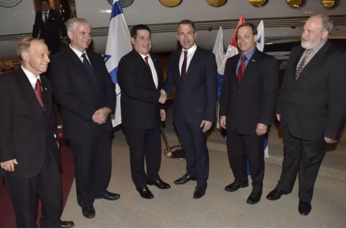 Horacio Cartes en Israel