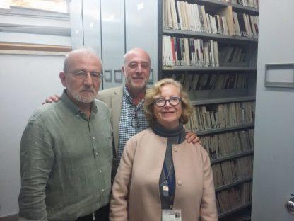 Edwin Seroussi, Premio Israel; Daniel Berliner director de la Agencia AJN y Gila Flam, musicóloga