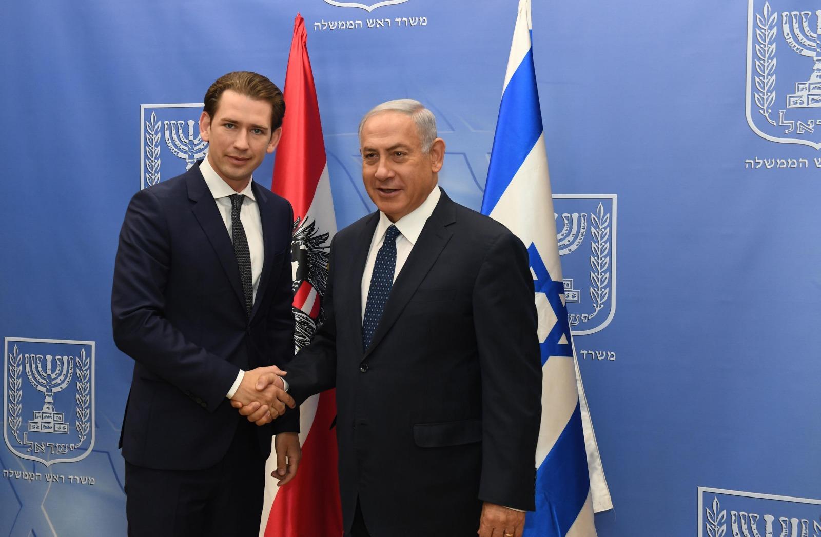 PM Netanyahu & Austrian Chancellor Kurz