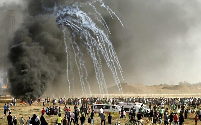 gaza gas humo