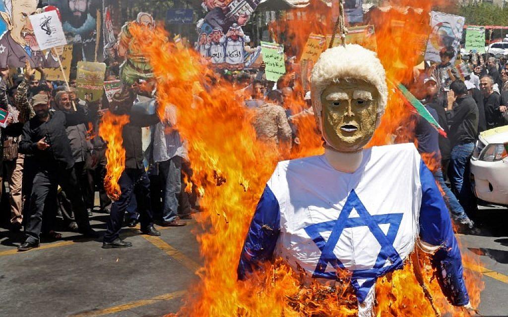 Al menos 4.000 palestinos se manifiestan en la frontera de Gaza