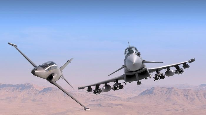 Dubai Airshow 2017 – Hawk and Typhoon