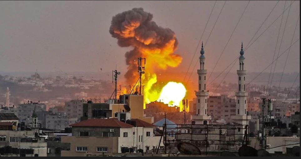 Gaza ataque aéreo