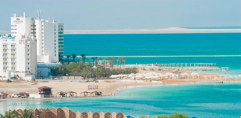 Turismo: se construirán dos hoteles nuevos junto al Mar Muerto