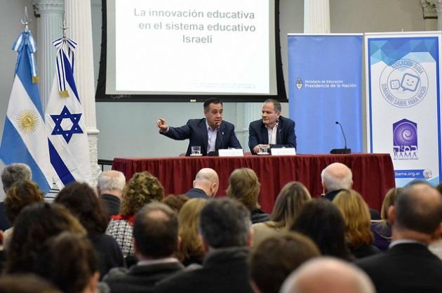 El Ministerio de Educación recibió a expertos de innovación en Israel