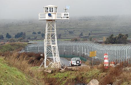 frontera Golan
