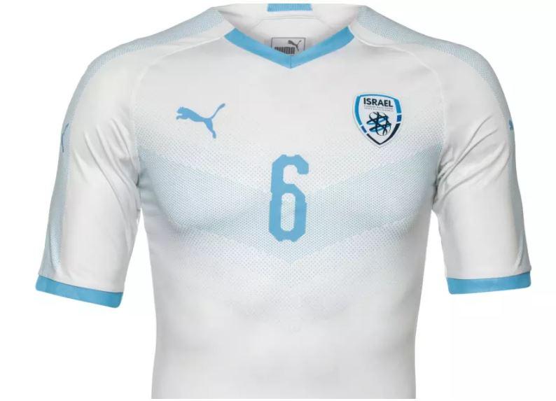 futbol camiseta israel