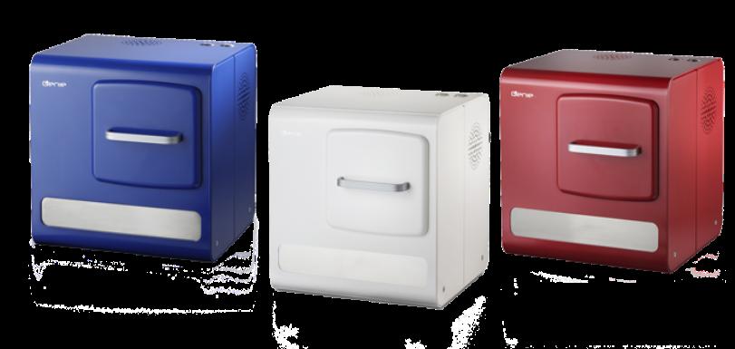 Los hornos inteligentes Genie vienen en una variedad de colores.