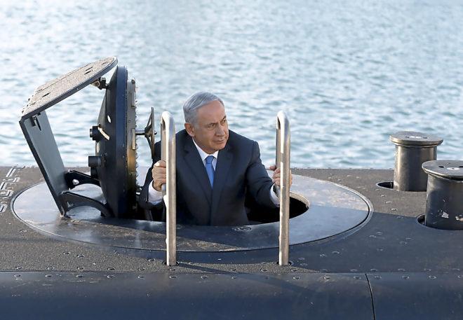 netanyahu submarino