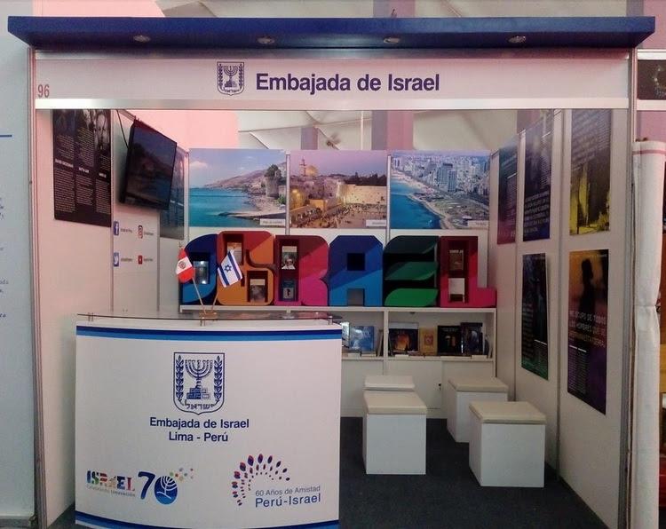 Israel participa en la Feria Internacional del Libro de Perú