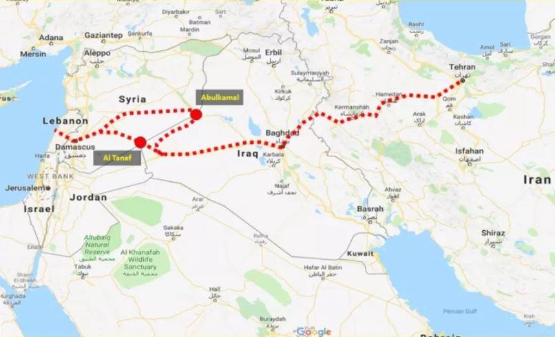 Siria Mapa Ajn Agencia De Noticias