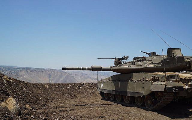 tanques golan