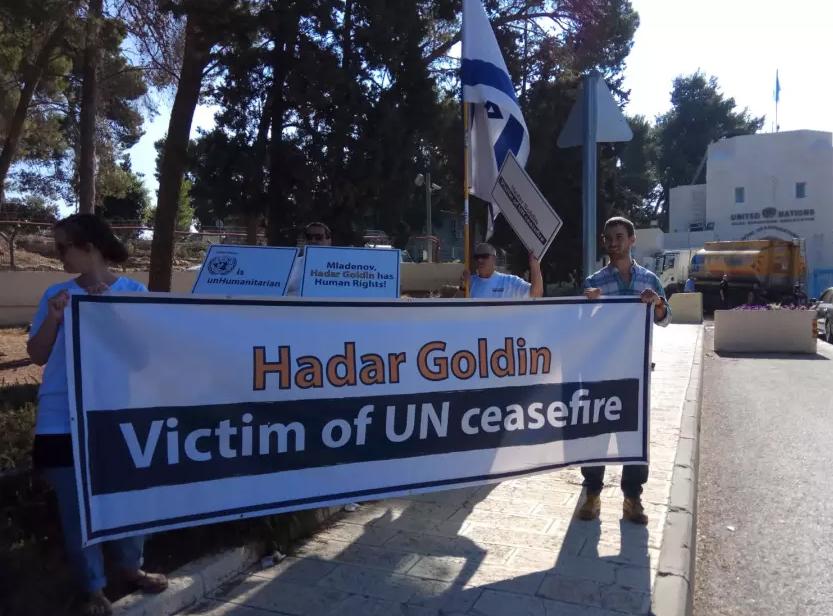 Goldín protesta ONU