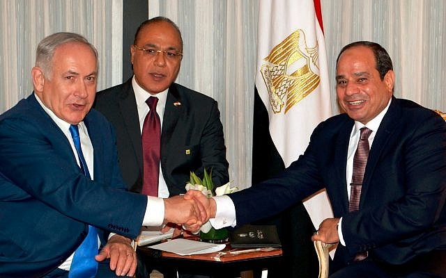 Netanyahu Sisi