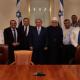 Netanyahu con líderes drusos
