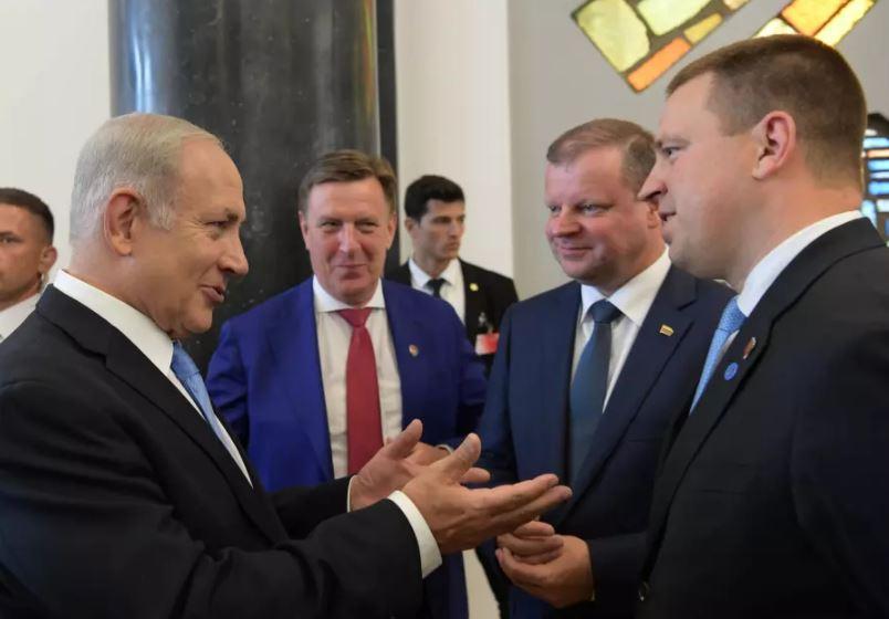 Netanyahu lituania