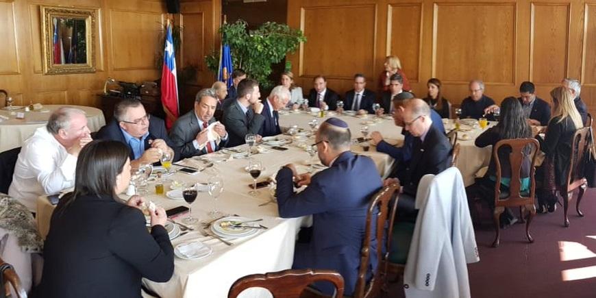 chile parlamentarios knesset