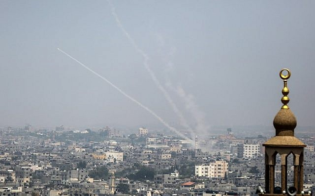 gaza cohetes