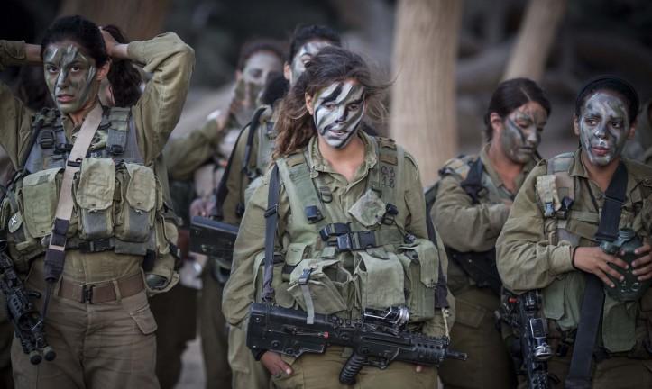 mujeres soldado fdi