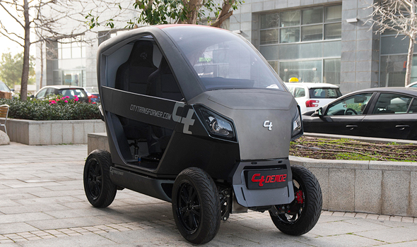 Israel-develops-foldable-car