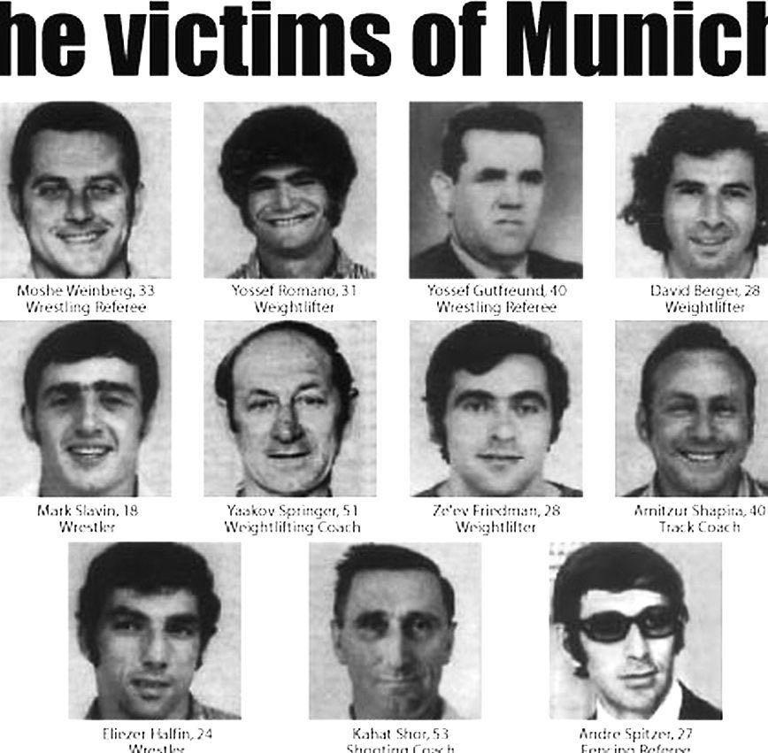 efemerides Un nuevo aniversario del asesinato a 11 israelíes en los Juegos Olímpicos de 1972