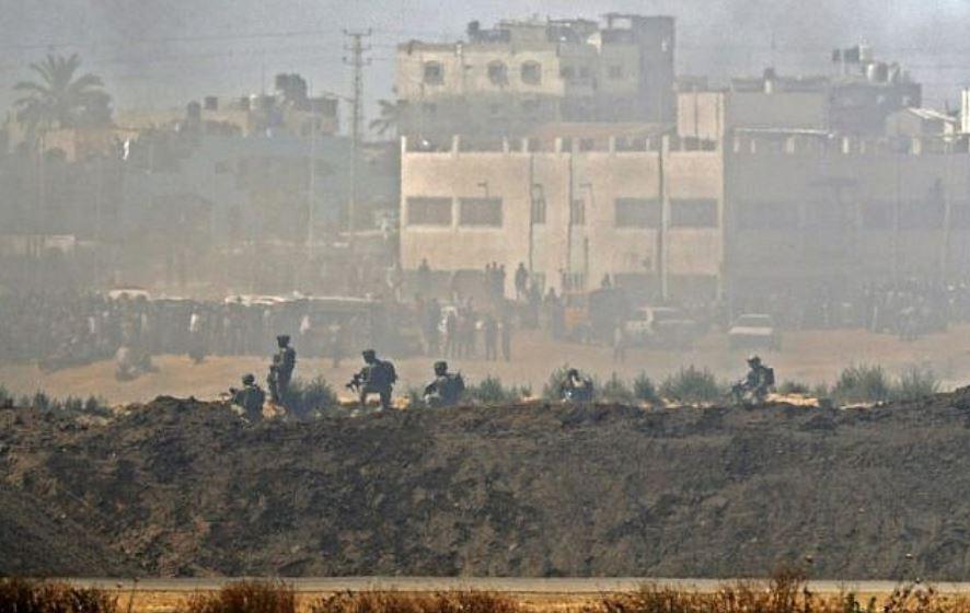 frontera con Gaza